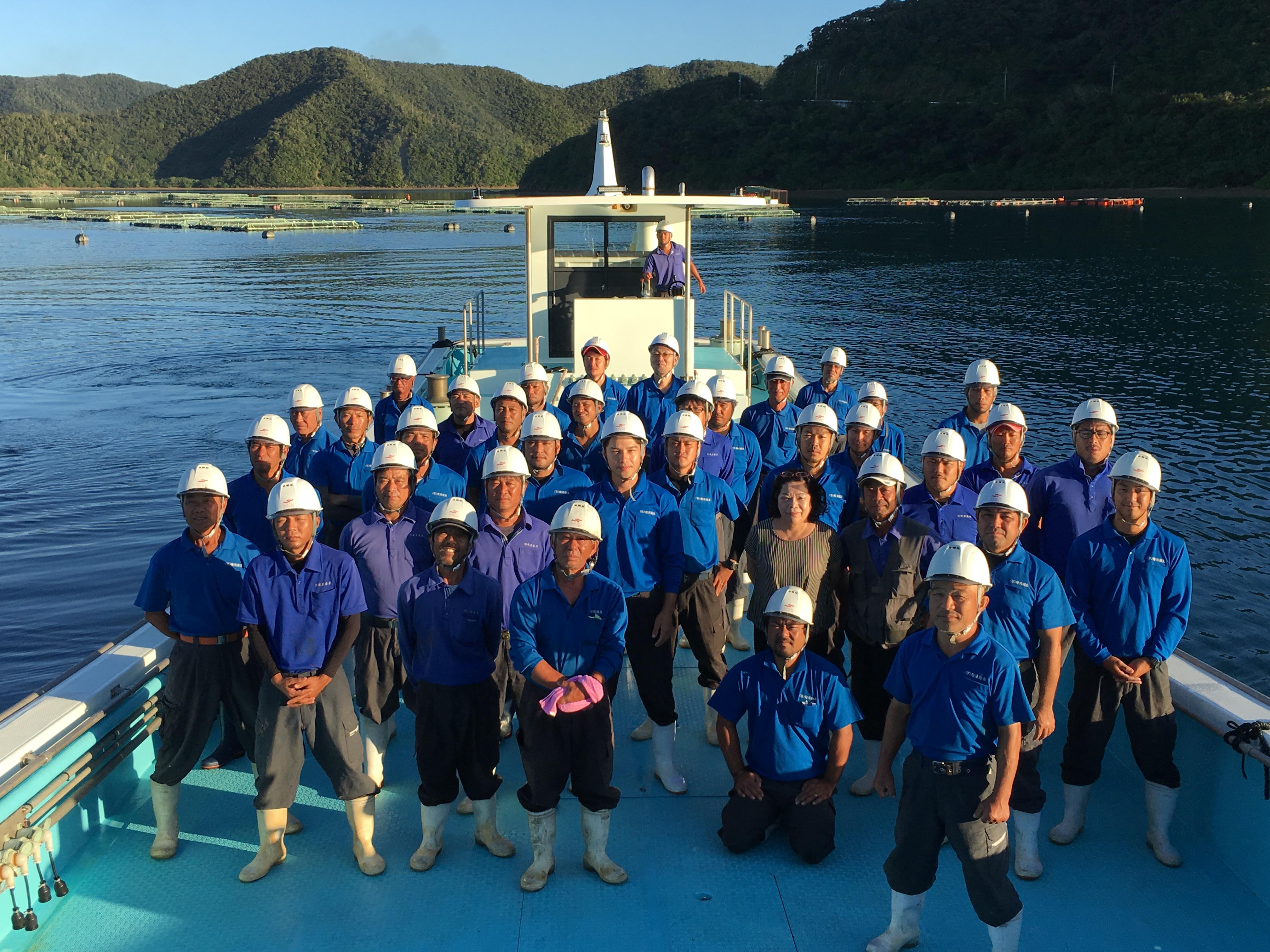 海が好きな方、魚が好きな方、島が好きな方大歓迎!マグロ養殖に関するお仕事です!
